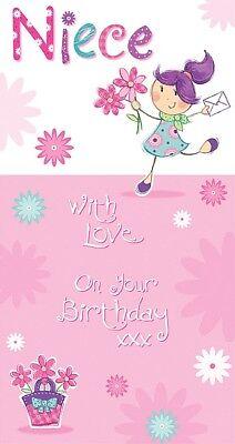 Tarjeta Cumpleaños Feliz Cumpleaños Sobrina Pozo De Los Deseos B30 Ebay
