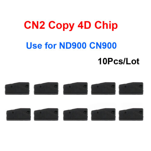 10Pcs Auto Blank ID4C Carbon Transponder Chip TP07 4C Chip for Ford for Toyota