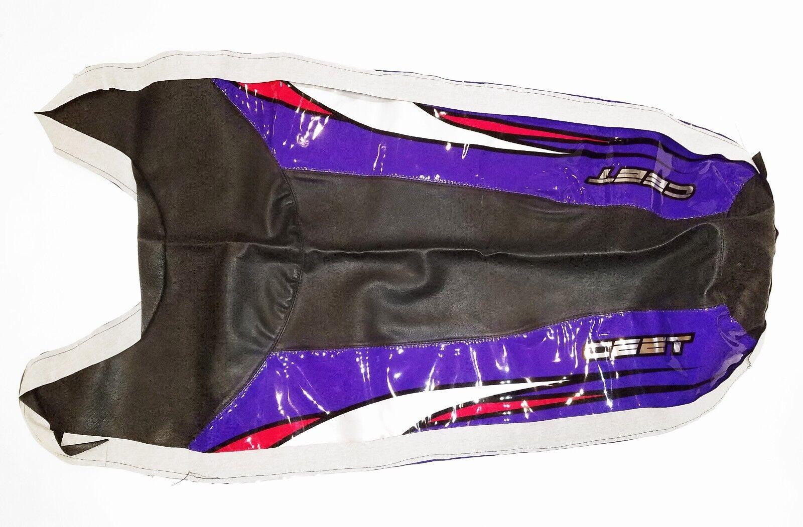 Ceet Racing Kawasaki Zxi Sitzbezug - Schwarz und Lila