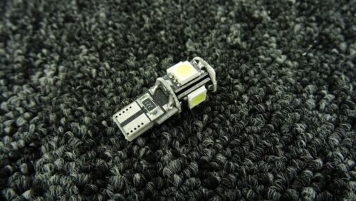 OPEL CAR LIGHT BULBS LED 501 194 168 W5W CANBUS 5 SMD XENON