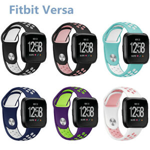 New-Silicone-Replacement-Wrist-Band-Watch-Strap-For-Fitbit-Versa-Smart-Bracelet