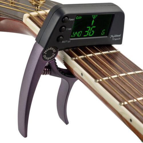 Neue Meideal TCapo20 Quick Change Key Capo Tuner Legierung Material E-Gitarre