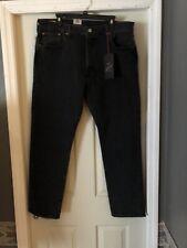 NEW Levi's Men's Justin Timberlake Fresh Leaves 501 Jeans Size 34 x 32 Black NWT