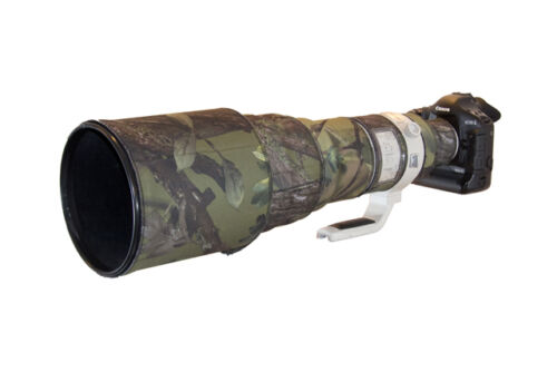 Canon 600mm F4 Nicht Ist Neopren Objektiv Schutz Camouflage Überzug Abdeckung