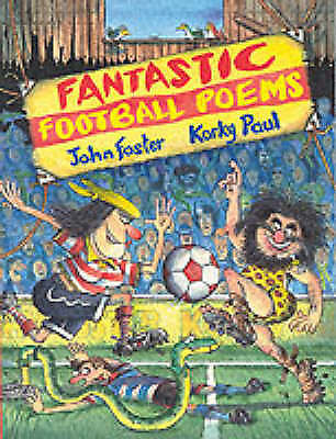 """""""AS NEW"""" Fantastic Football Poems, , Book"""