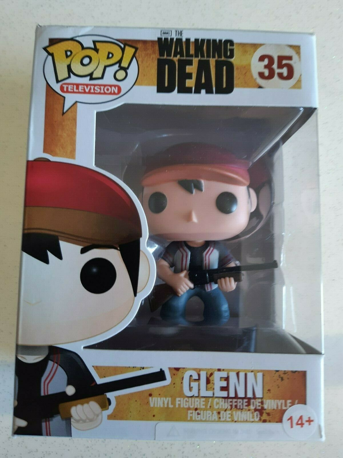 Figurine Pop Glenn 35 The Walking Dead