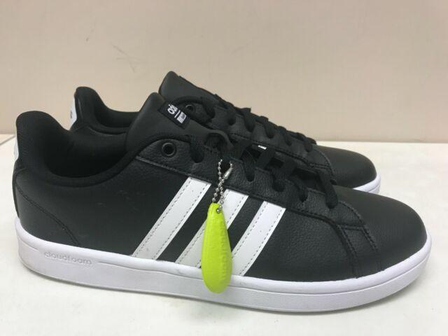 Size 5.5 - adidas Cloudfoam Advantage Black White