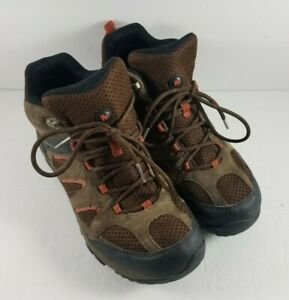 Merrell Outmost Vent Mid Waterproof Mens Hiking Boots US 8.5 J09519 Brown/Black