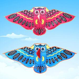 Cartoon-owl-flying-kite-foldable-outdoor-kite-children-kids-sport-toys-FT