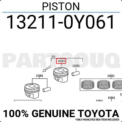 Genuine Toyota Catch Lever Rod 53552-0C061