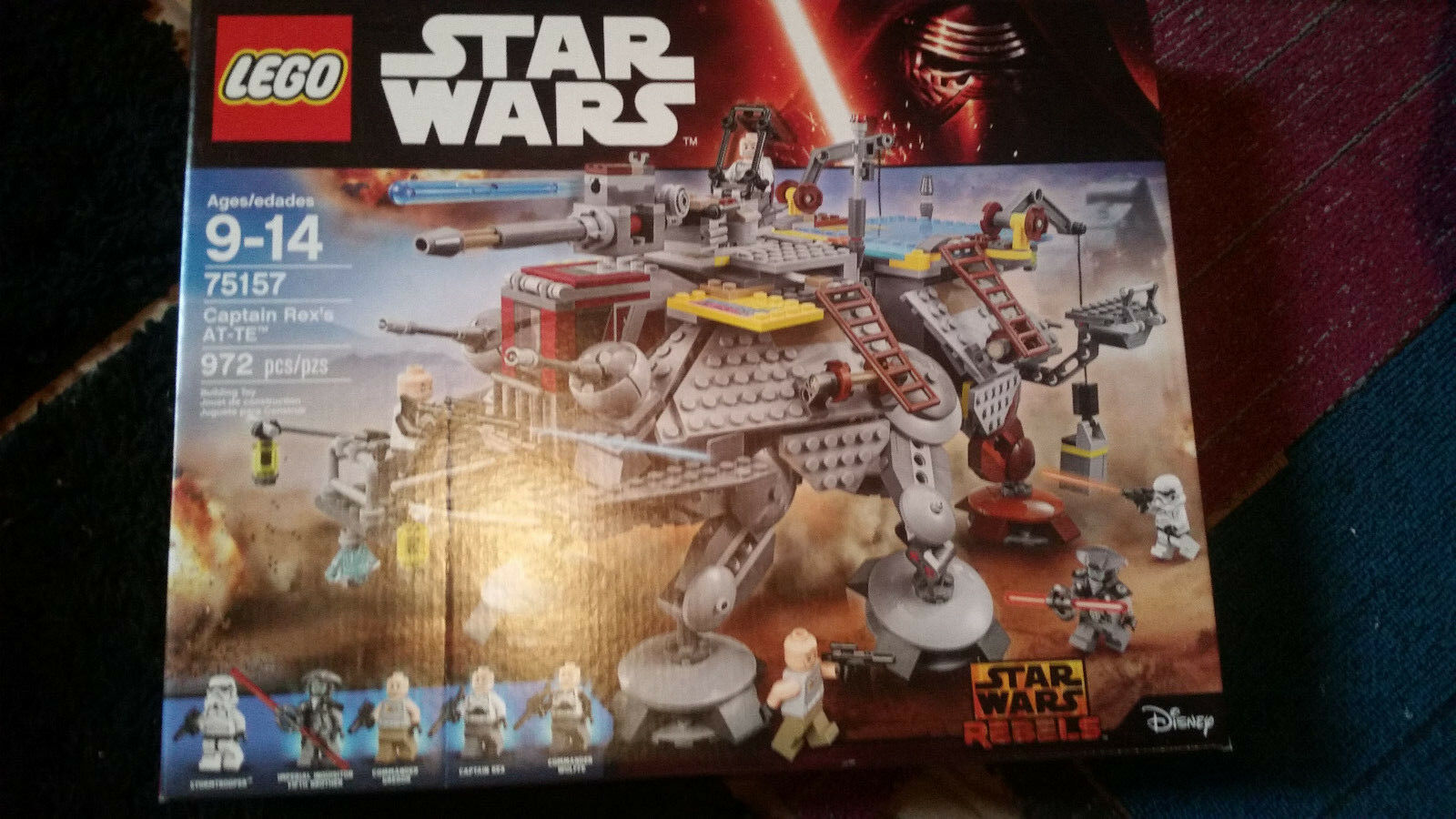Lego Star Wars Captain Rexs AT-TE (75157) new in Box