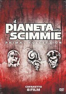 8-Dvd-Box-Cofanetto-IL-PIANETA-DELLE-SCIMMIE-PRIMAL-COLLECTION-Completa-Nuovo