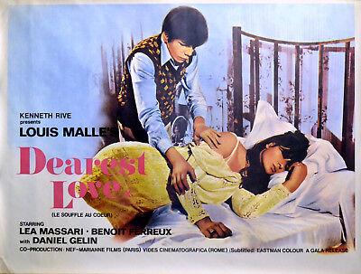 Louis Malle Le souffle au coeur Lea Massari poster print