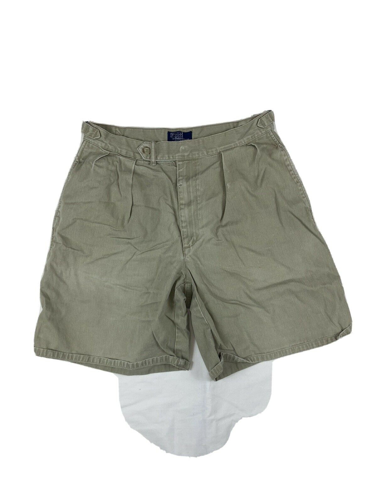 POLO RALPH LAUREN Shorts Chino Pleated 90s 80s VT… - image 1
