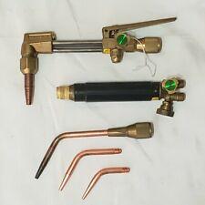 New Listingcraftsman Harris Cutting Welding Torch Set Tips Brazing Heavy Duty