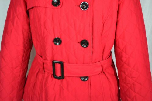 Breasted With Belt Size Red Double 16 Coat Rossetti Quilted Jacket thdCxsQr