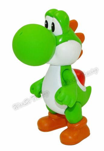 "5/"" Kid Super Mario Brothers Bros Yoshi Dinosaur Action Figure Figurine PVC Toy"