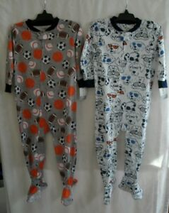 Carter/'s Footed Pajamas Sports or Dogs Print 1 Piece 24 Months NWT Free Shipping