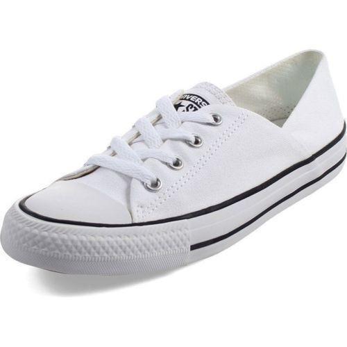 Converse Coral Buey blancoo Low Top para para para Mujer Moda Zapatos 555901F  Super Lindo   nuevo  estar en gran demanda