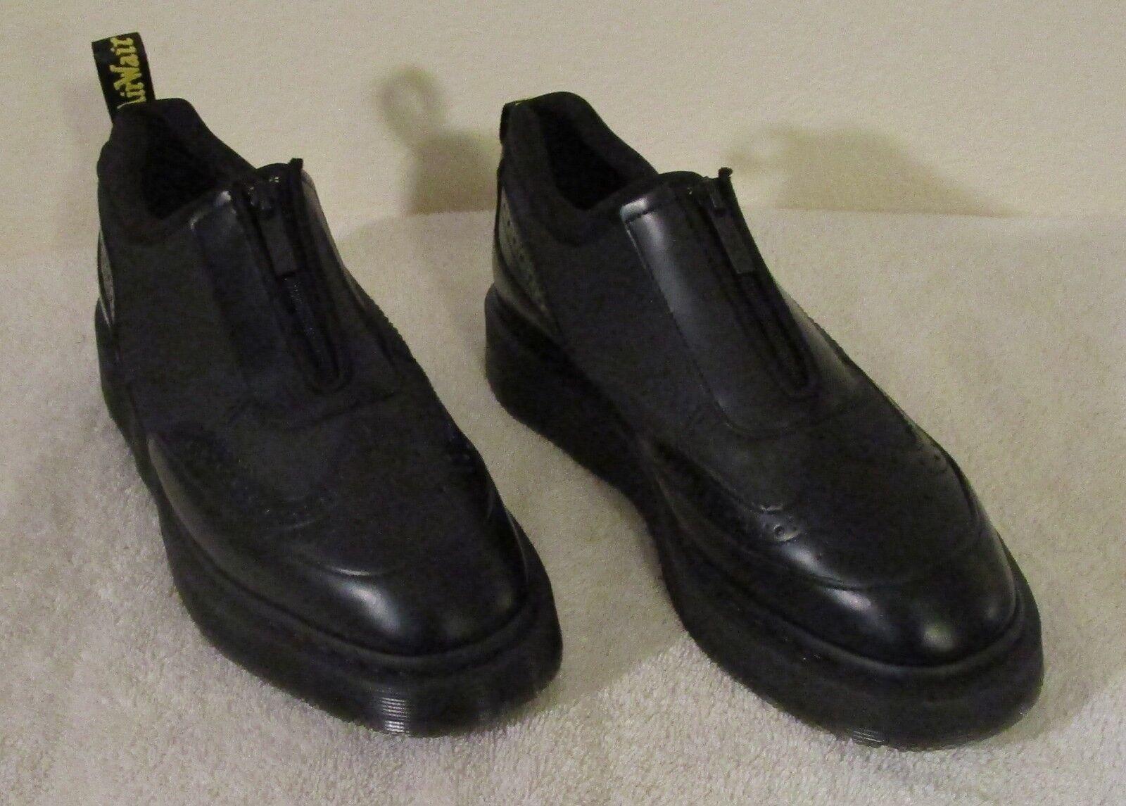 venta directa de fábrica Nuevo Dr Martens Resnik Para Mujer Cremallera Brogue Oxford Zapatos Zapatos Zapatos 11 Negro MSRP  145  Mejor precio