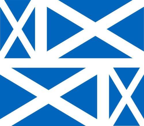4 x Autocollant sticker voiture moto valise pc portable drapeau ecosse ecossais