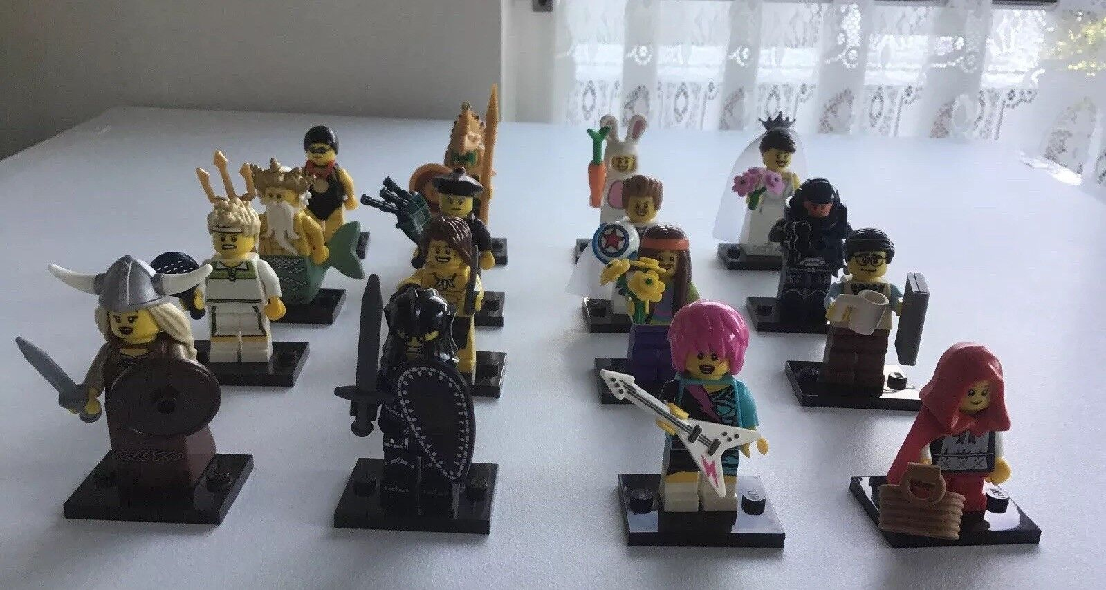 Lego Minifigures Series 7 Set 8831 Complete 16 Minifigs From 2012
