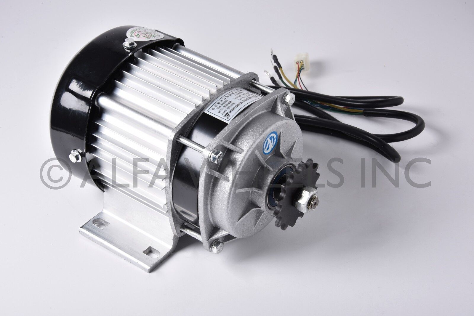500W 48V Electric GoKart Tricycle Cart Brushless Motor DIY GEAR rossouction BLDC
