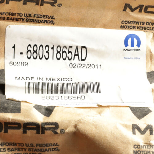 OEM NEW MOPAR Support Strut Prop Left Liftgate 11-13 Dodge Durango 68031865AD