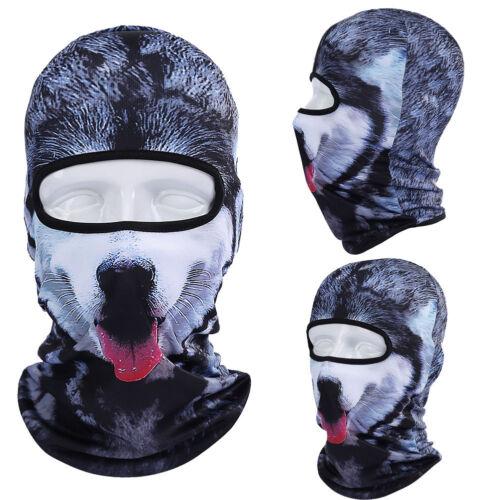 Husky Dog Balaclava Outdoor Cycling Bicycle Ski Hat Balaclava Full Face Mask US