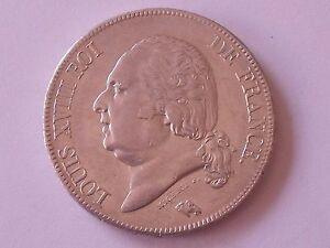 5-Francs-Louis-XVIII-1822-A
