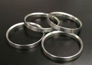 58.1 - 57.1 Alloy Wheel ALUMINIUM Spigot Rings for Skoda Favorit