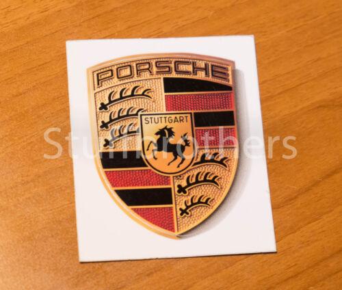 Brand New Genuine Porsche Sticker Crest Logo OEM WAP013002 65Mm X 53Mm Stick
