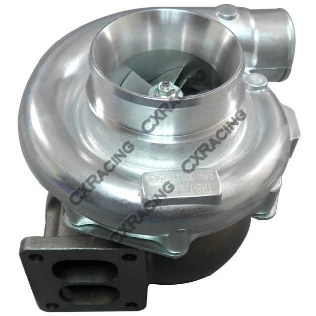"""T76 1.15 A/R P Trim Turbo Charger T4 Ball Bearing 4"""" Inlet 3"""" Vband Exhaust"""