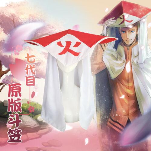 Naruto Hokage Hashirama Senju Hiruzen Sarutobi Tsunade Cap Hat Cosplay Prop