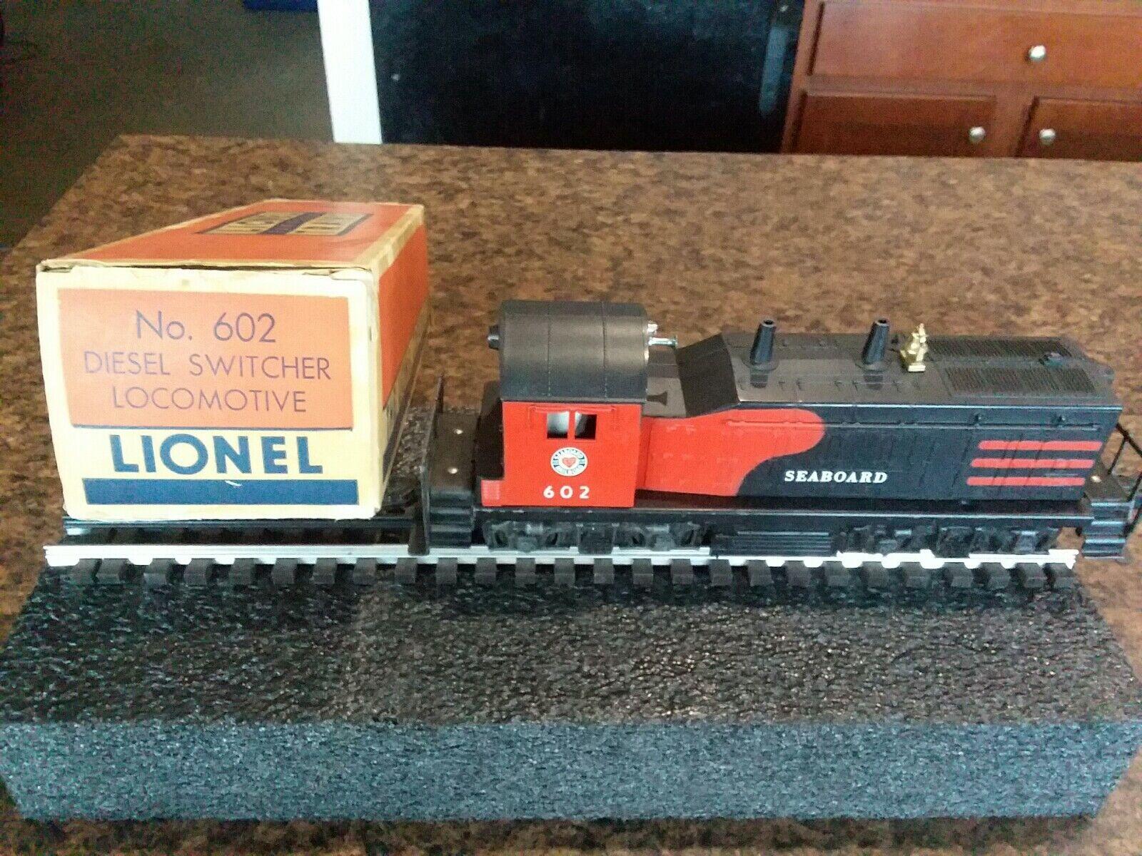 LIONEL PW 602 SEABOARD NW2 SWITCHER W Box  Item