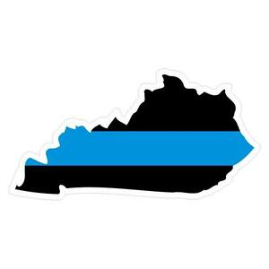 Kentucky-KY-State-Thin-Blue-Line-Police-Sticker-Decal-181-Made-in-U-S-A