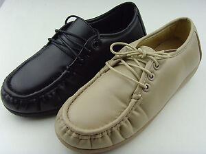 Women s Soft Comfy Non-Slip Work Shoes Slip Resistant Walking ... b434557184
