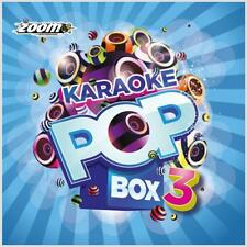 Karaoke CDG Discs Zoom Pop Box Set Vol 3 - 120 Chart Hits/Oldies/Musicals 2014