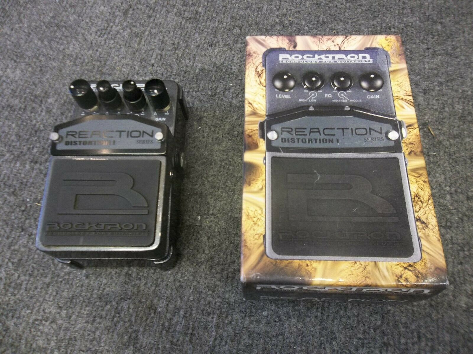 Rocktron Reaction Distortion 1. Boxed. Fast free secure shipping!