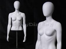 Table Top Egghead Female Mannequin Torso Display Md Egtfsa