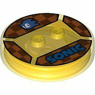 Lego Dimensions Disc Lego Bau- & Konstruktionsspielzeug Sonic The Hedgehog #59 With Blue Sonic Head And 'sonic'