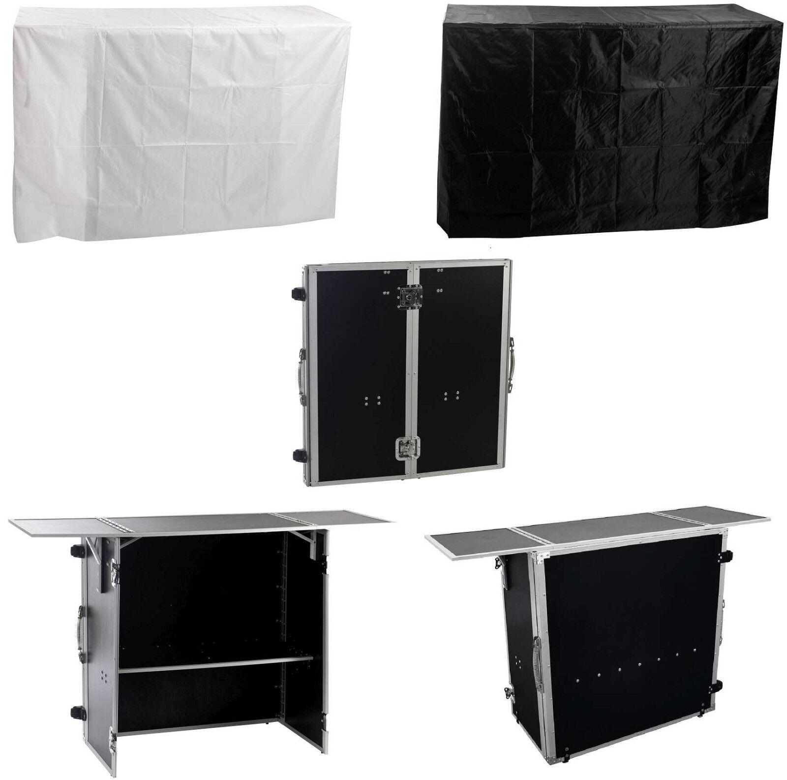 Theke Tisch zusammenklappbar - WerBesteand - Portabler DJ-Tisch - Case Info Desk