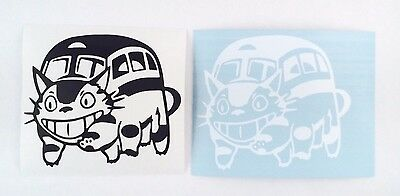 Studio Ghibli My Neighbor Totoro Cat Bus Neko Bus Vinyl Sticker Decal