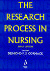 The Research Process in Nursing by John Wiley and Sons Ltd (Paperback, 1996)