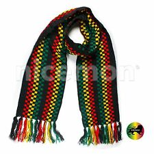 "Reggae Rasta Scarf Acent Scarf Irie Reggae Rastafari Jamaica Africa Marley 65"""