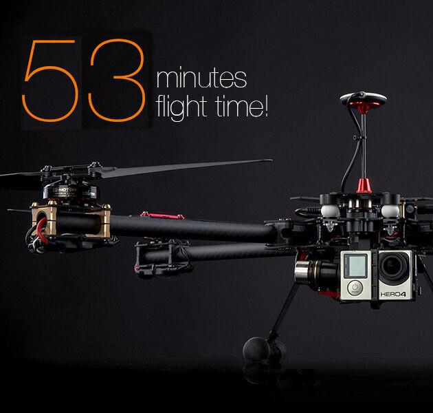 DAYA 550 DJI NAZA GPS V2 Quadcopter BNF up to 53 min fly time