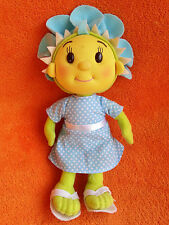 "Fifi & The Flower Tots Fifi Soft Toy 7"" Blue Dress White Spots"
