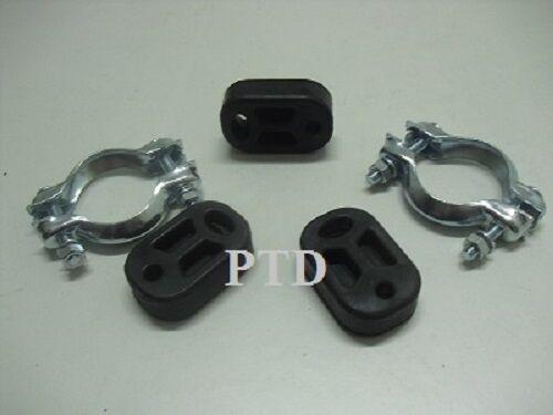 Auspuff Montagesatz Peugeot 206 CC für Mittelschalldämpfer /& Endschalldämpfer