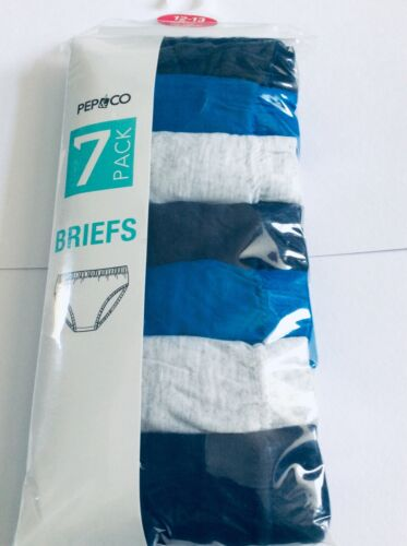 age 12-13 years Brand new boys pack of 7 briefs