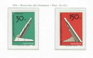 S30966) Turkish Cyprus 1976 MNH Freedom 2v